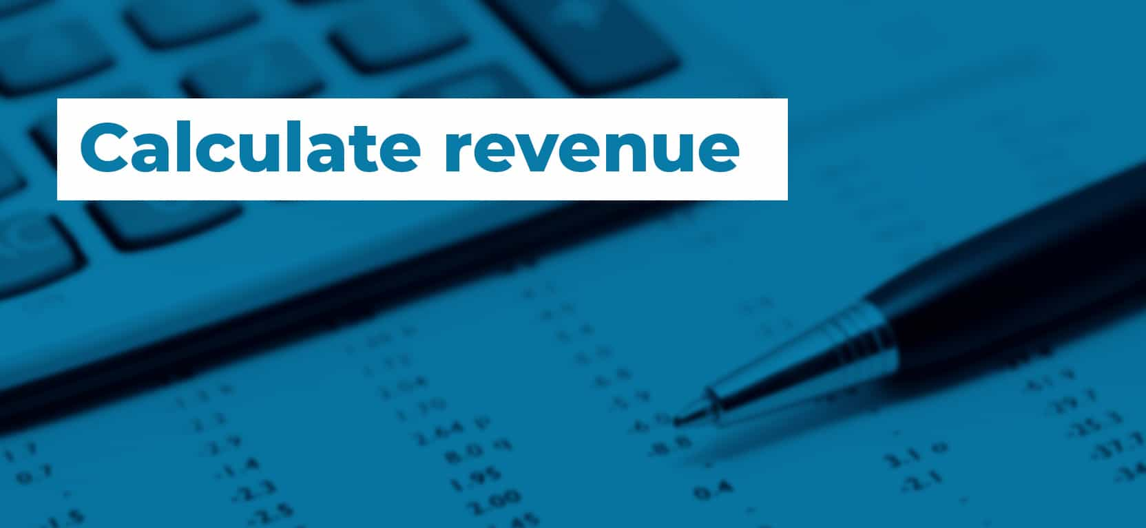 31 Calculate revenue3