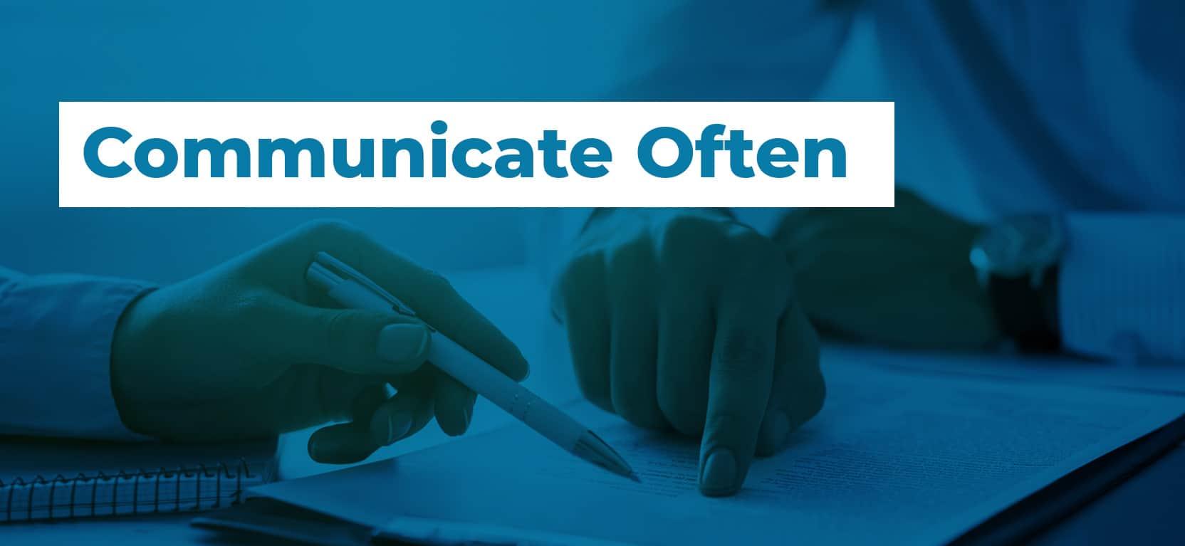 22 Communicate Often2