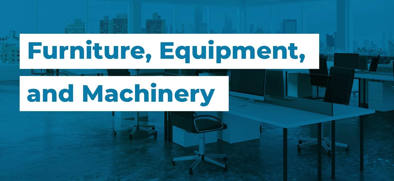 08 Furniture Equipment and Machinery3