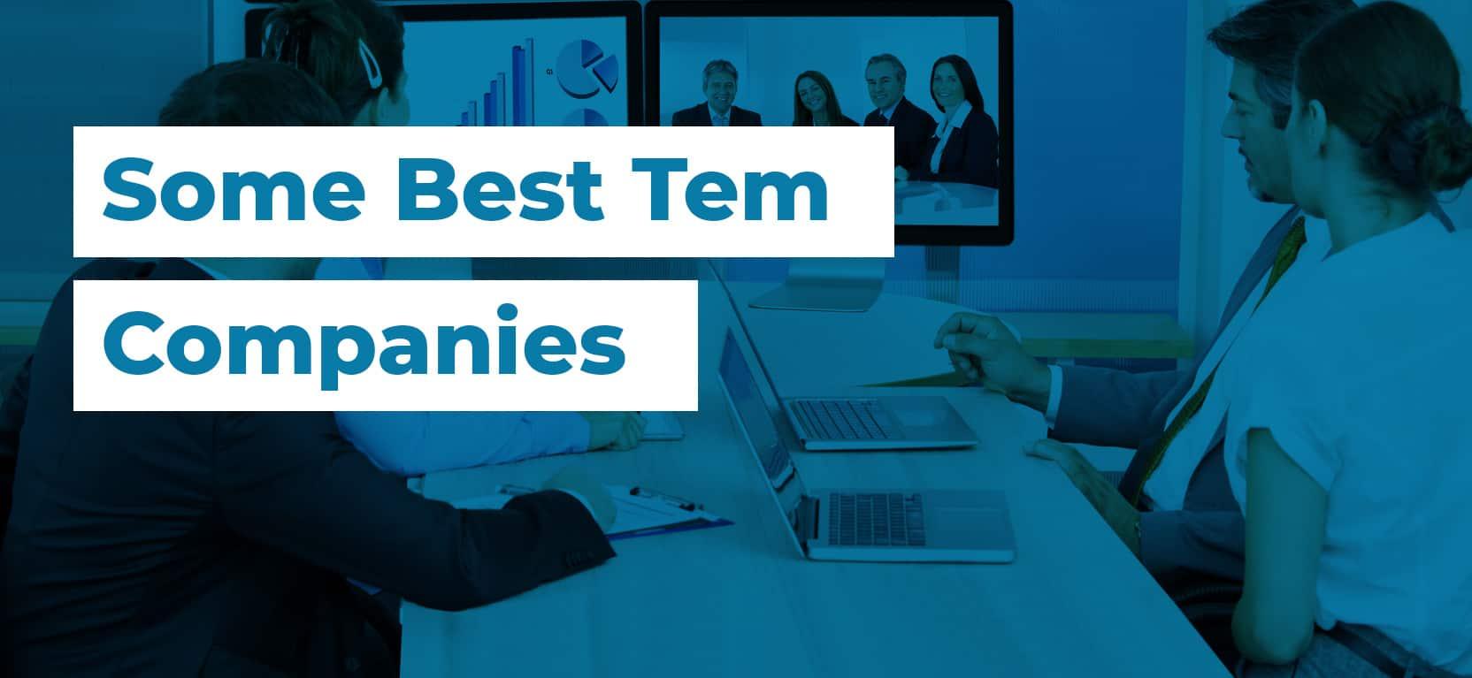 61 Some Best Tem Companies3