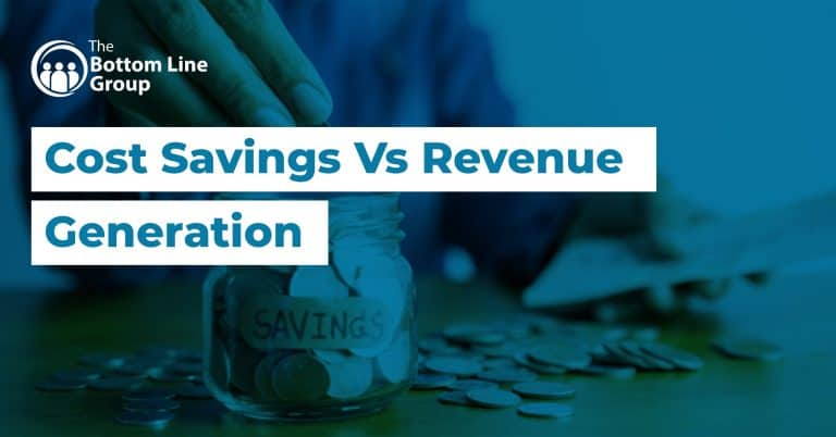 15 Cost Savings Vs Revenue Generation