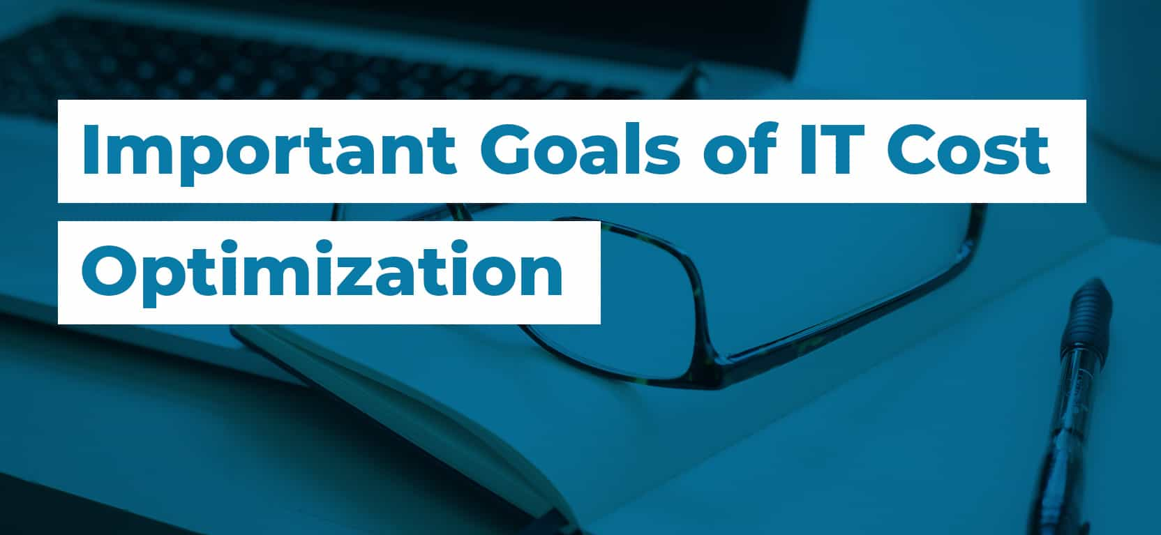 36 Important Goals of IT Cost Optimization3