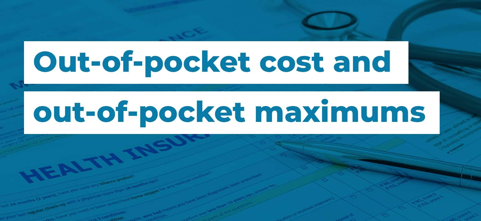 47 out of pocket cost and out of pocket
