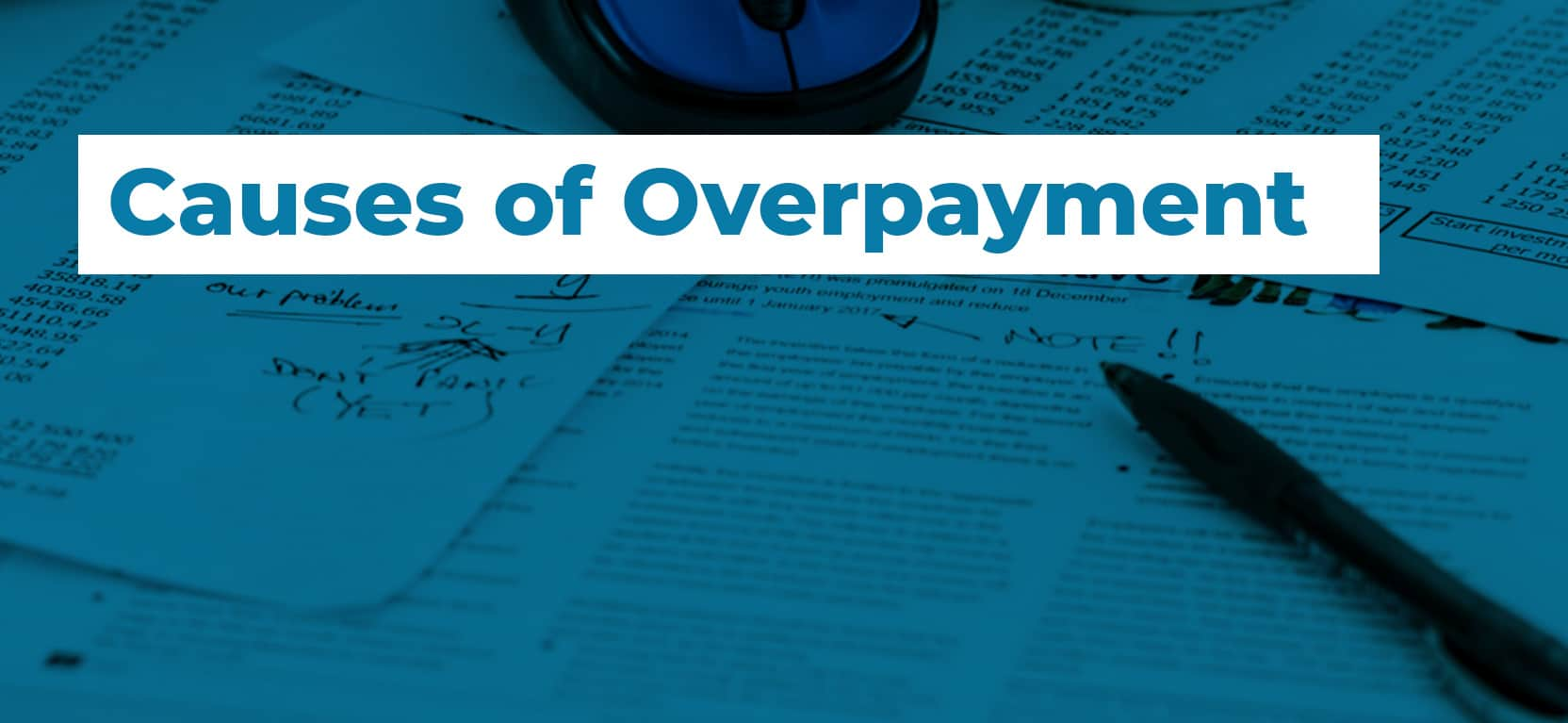 62 Causes of Overpayment3
